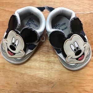 Disney infant shoes size 3-6 months